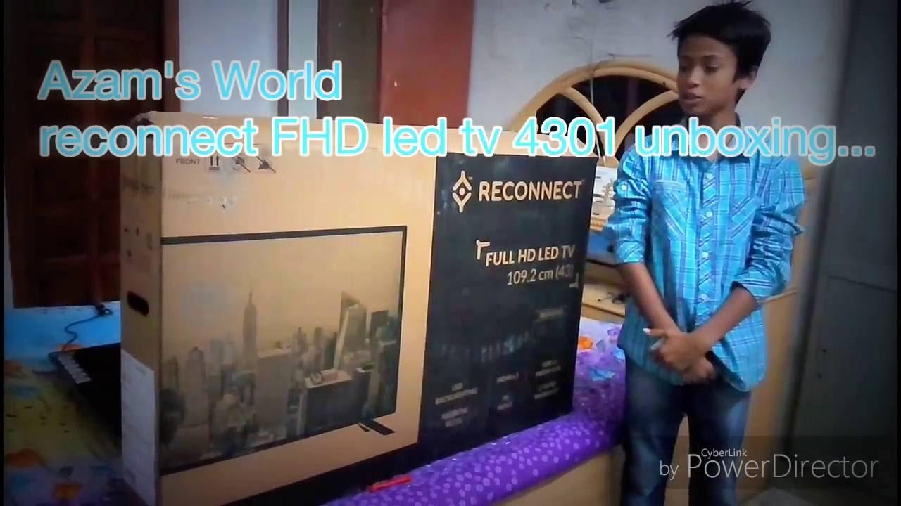 46df9f155 Reconnect RELEG4301 Full HD LED TV