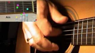 """Как играть на гитаре песню """"Луч солнца золотого"""" (cover)"""
