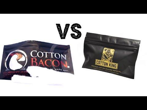 Cotton Bacon vs Cotton King vs Muji Cotton