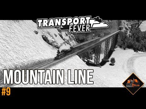 Spectacular Mountain Railway | Transport Fever The Alps Gameplay #9