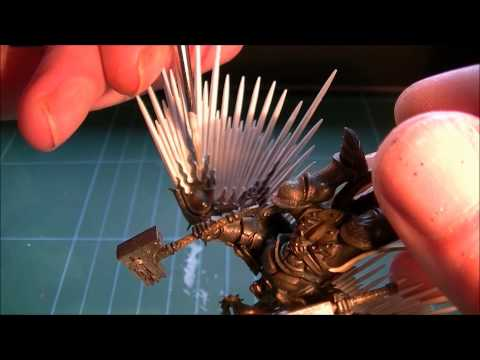 How to paint Warhammer Age of sigmar Stormcast Prosecutor wings