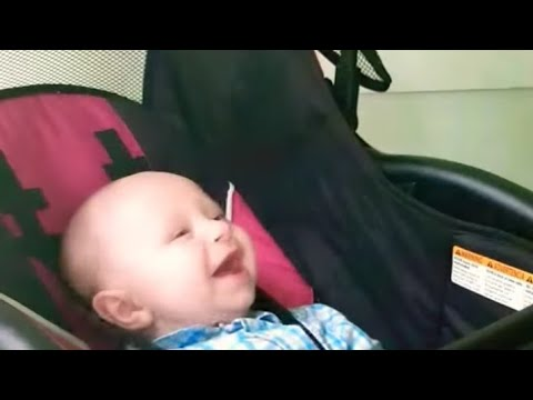 Funny Daddy Making His Baby Laugh