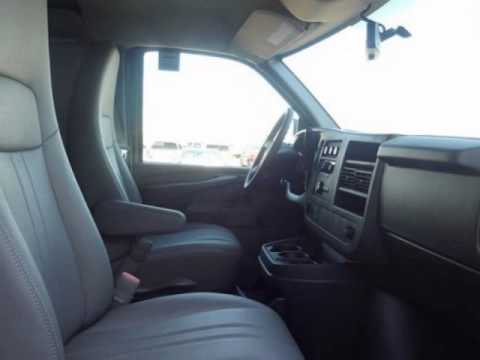 2013 chevrolet express cargo van rwd 3500 135 air