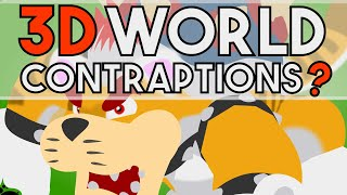 Is it Possible to Build Basic Super Mario Maker Contraptions in the 3D-World Theme?