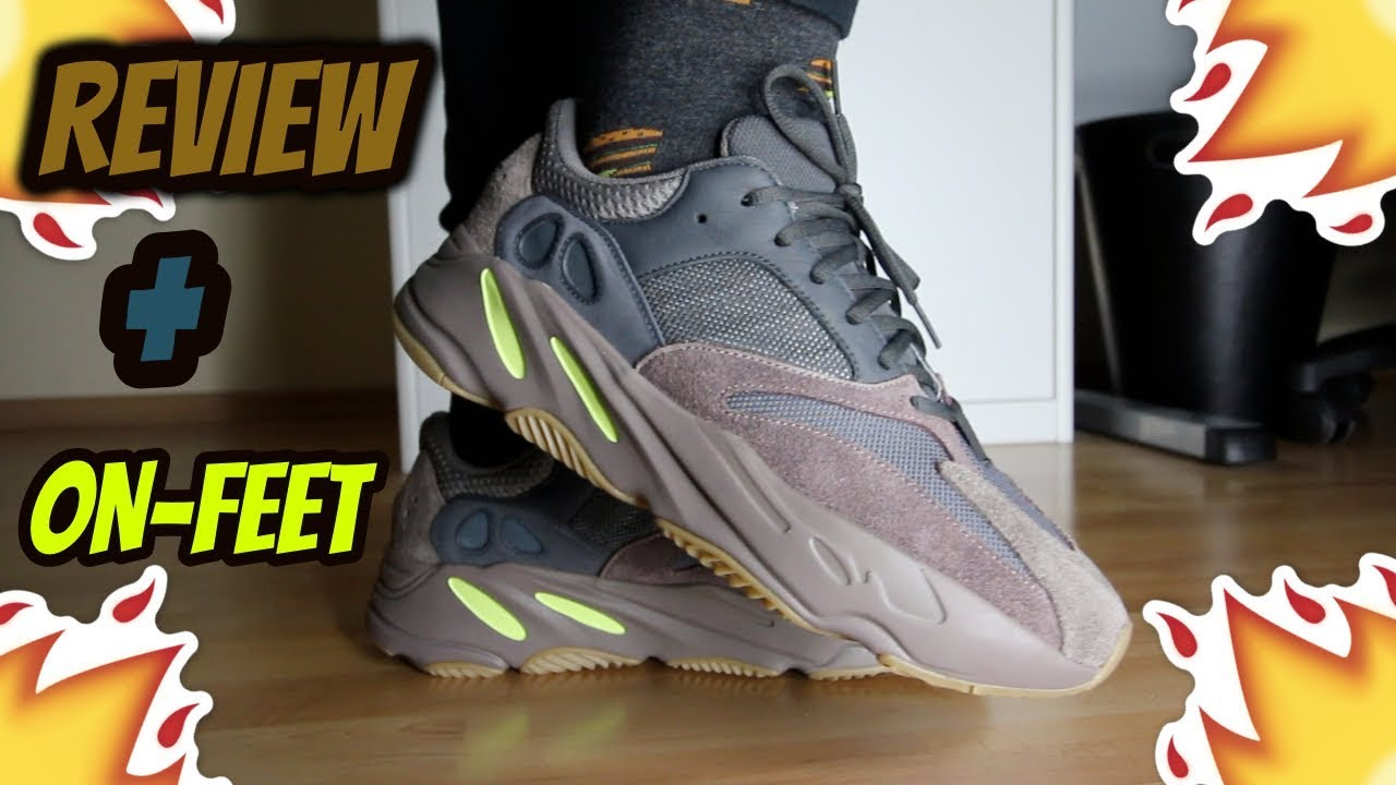 178ed4ec75f ADIDAS YEEZY BOOST 700 Mauve Review On-Feet!!! - YouTube