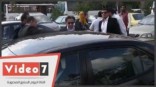"""أحمد عز يغادر محكمة التجمع عقب تأجيل محاكمته فى الإضرار بأموال """"حديد الدخيلة"""""""
