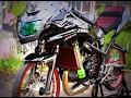 Video Modifikasi Motor Kawasaki Ninja RR Drag Racing Style Keren Terbaru
