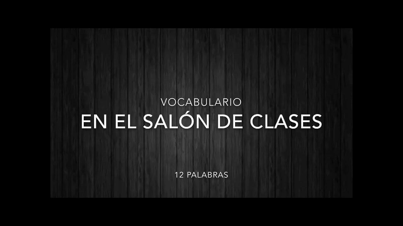 Ingl s vocabulario en el sal n de clases english for 10 reglas del salon de clases en ingles