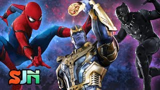 Avengers Infinity War's 30 Character Scene! Showdown or Shawarma?