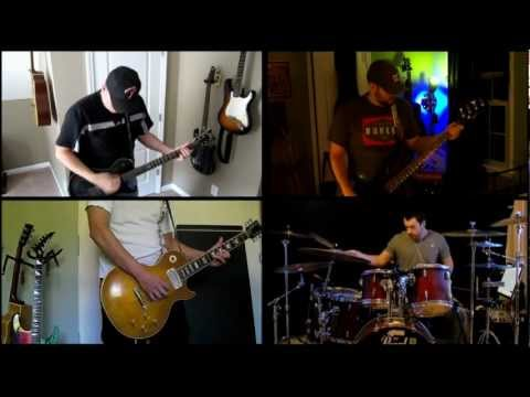 """All Around Me"" - Full Band Collab - Flyleaf Cover"