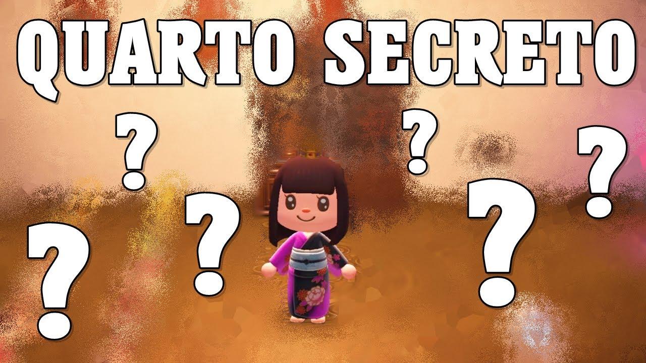QUARTO SECRETO NA CASA DA FLAVINHA Animal Crossing New Horizons