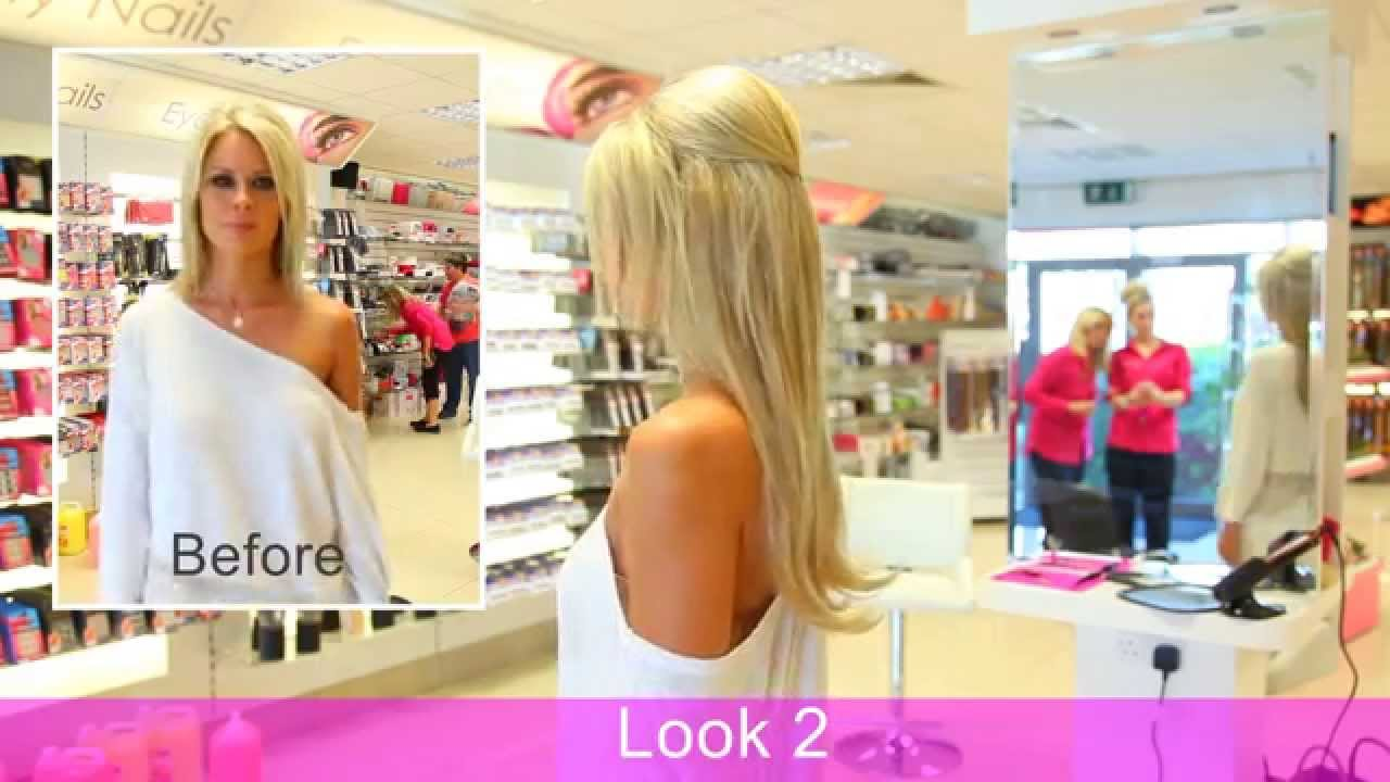 Angelina Clip In Hair Extension Hairspray Couture Youtube