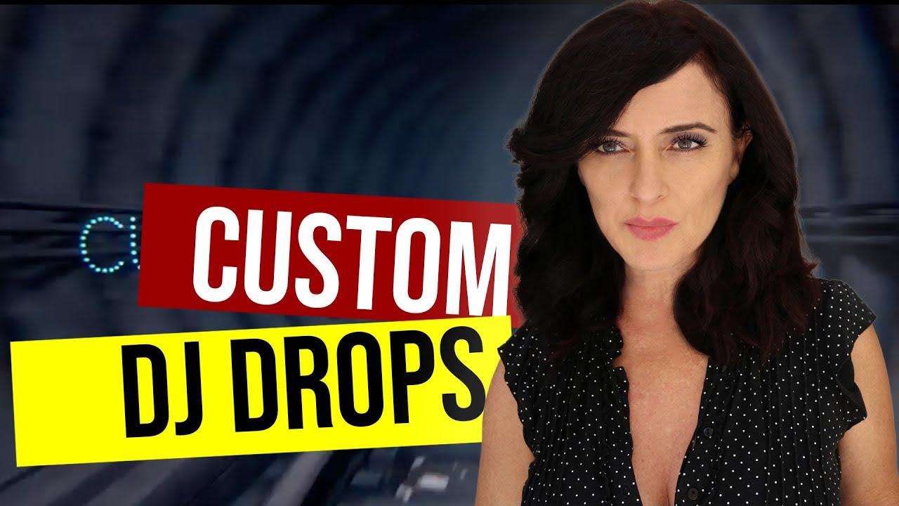 Female DJ Drops Custom DJ Drop DJ Intros DJ Name Tags