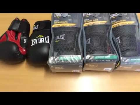 Everlast Ergo Boxing Gloves