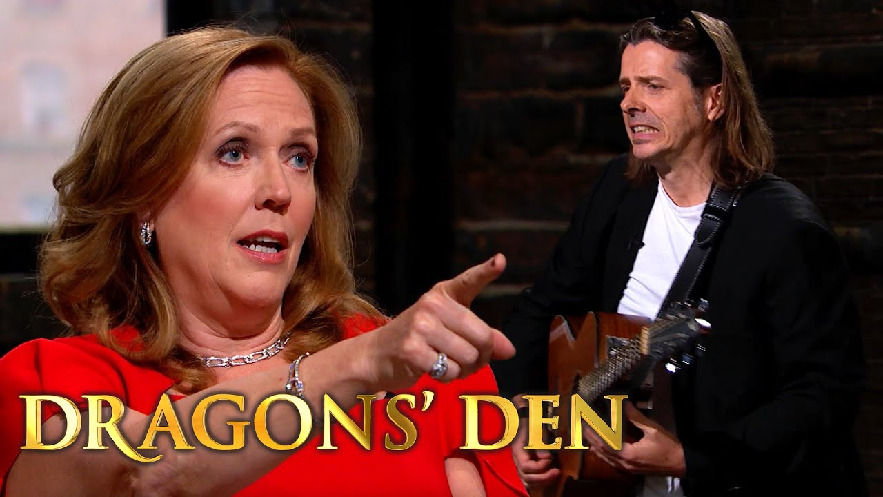 Busker Seeks £300k for 30% of 'Play Me The Songs'   Dragons' Den
