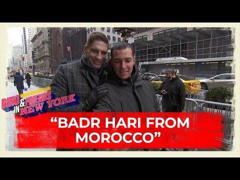 RICO VERHOEVEN aangezien voor BADR HARI in NEW YORK?! | Dino & Friends in New York