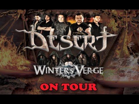 Desert / Winter's Verge tour dates in Greece, Bulgaria and Romania!