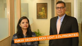 What will be top priorities of Modi's new govt? Emkay decodes