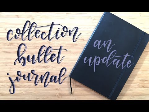 Flip Through | Update | Collection Bullet Journal