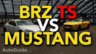 2018 Subaru BRZ tS vs Ford Mustang Convertible EcoBoost