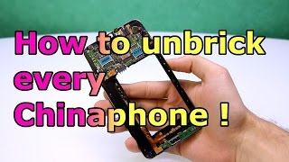 How to Unbrick every MTK China Phone ! Preloader / SP Flashtool Fix [HD]