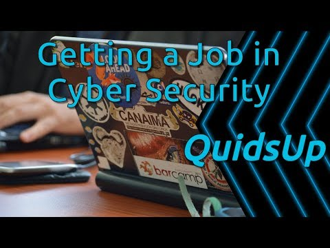 Discussing How To Get A Job Within Cyber Security Industry