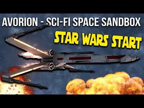 Avorion Star Wars Start!  Lets Build a Fleet!