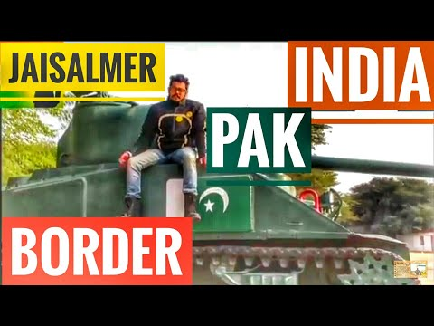 Longewala Border |Tanot|India Pakistan border |Rajasthan tourism|motoVlog India