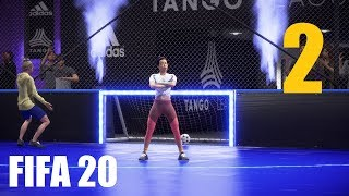 FIFA 20 Volta CAPITULO 2 - MODO HISTORIA COMPLETO | Gameplay Fran MG
