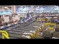 What a USPS distribution center looks like during Christmastime