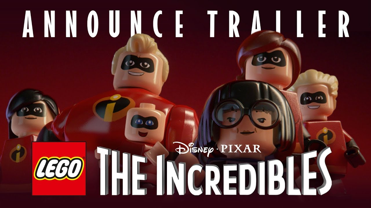 Official LEGO The Incredibles Announce Trailer