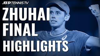 De Minaur Beats Mannarino to Zhuhai Title! | Zhuhai 2019 Final Highlights
