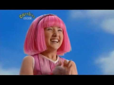 Lazy Town Theme | Intro | Music | Titles - Cbeebies - High Q