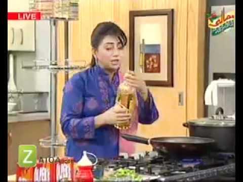 Tomato Salsa, Olper Strawberry Ice Cream, Afghani Pulao And Pasta With Tomato Soup by Rida Aftab   Zaiqa