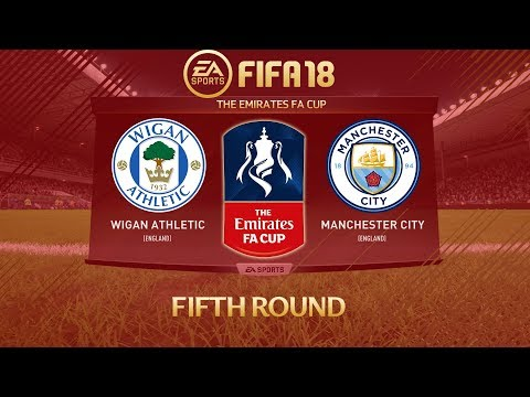 FIFA 18 Wigan Athletic vs Manchester City | The Emirates FA Cup 2017/18 | PS4 Full Match