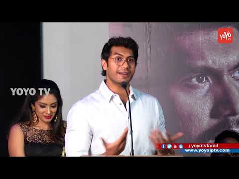 Vishagan Speech | Vanjagar Ulagam Press Meet | Chandini, Sam, Manoj Beedha, YOYO TV Tamil