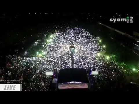 JAWA BARAT BERSHOLAWAT Di SENTUL Dalam Rangka Milad Majelis Syababul Kheir HABIB MAHDI ASSEGAF