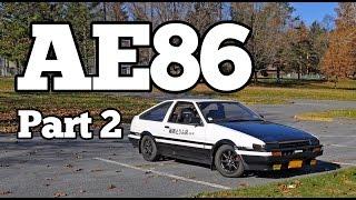 Regular Car Reviews: 1985 Toyota AE86 Sprinter Trueno, Part 2