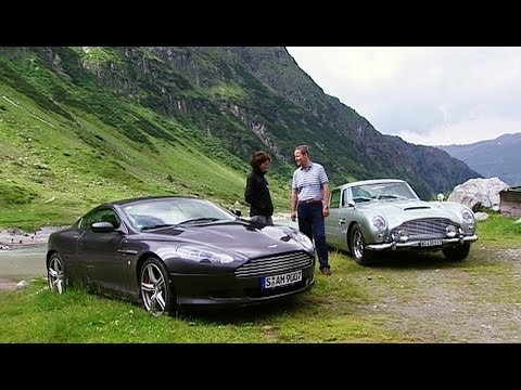Aston Martin DB9 und DB4 (aus dem Archiv) - Throwback Thursday | auto motor und sport