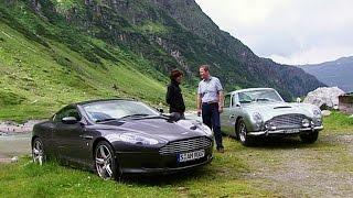 Aston Martin DB9 und DB4 (aus dem Archiv) - Throwback Thursday   auto motor und sport