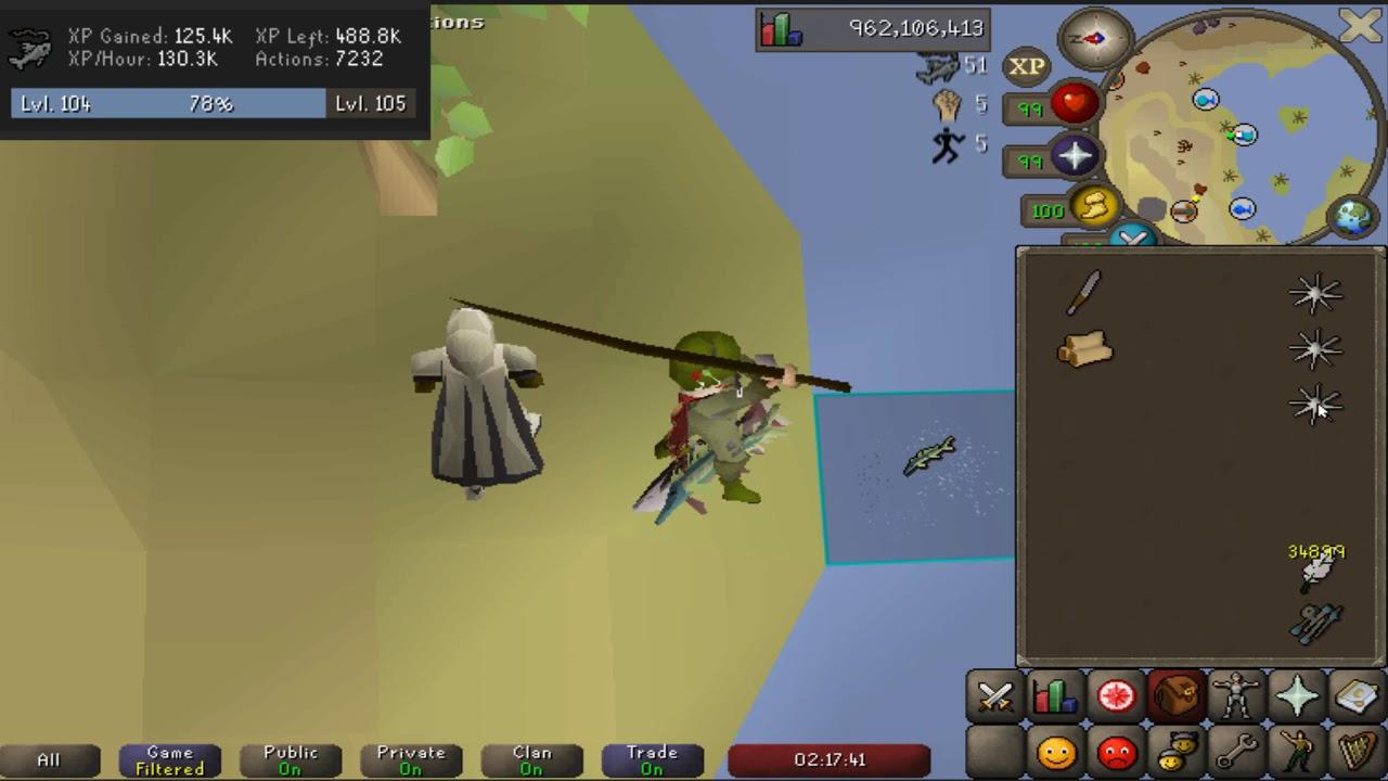 Osrs Fishing Calc