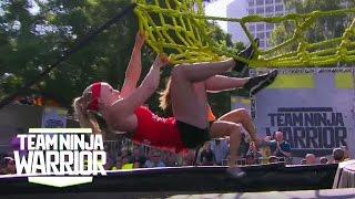 Season 2, Episode 6: A Rookie Surprises the Defending Champs | Team Ninja Warrior