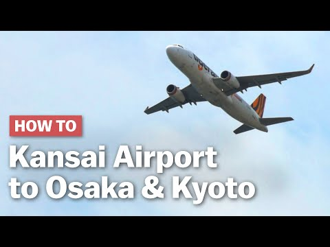 How to get from Kansai Airport to Osaka & Kyoto | japan-guide.com