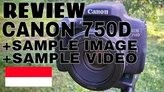 Review DSLR Canon 750D Indonesia