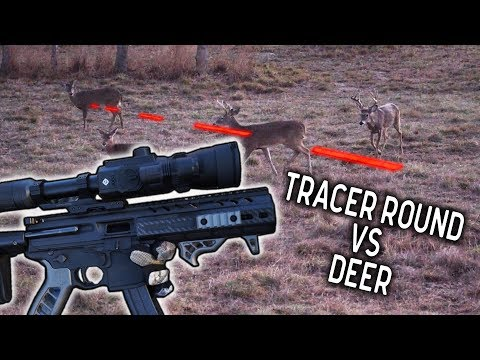 Crazy 9mm Carbine Deer Hunt With Tracer Bullet | Streak Ammunition