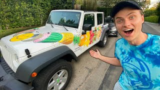 Addison Rae Gave Me Her Car!!