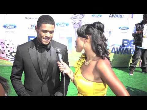 POOCH HALL 3 Keys to Success at 2011 BET Awards Red Carpet