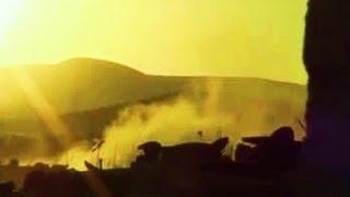 Сирия. Авиабомбежка силами режима Асада районов Дамаска...Сентябрь 2013.