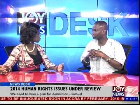 2014 Human Rights Issues Under Review - News Desk (26-12-14)