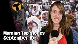 Morning Top Stories   Bangkok Re-opening postponed, Krabi imposes tight measures   September 16  